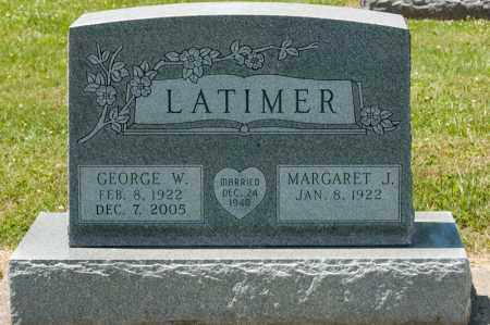 LATIMER, GEORGE W - Richland County, Ohio | GEORGE W LATIMER - Ohio Gravestone Photos