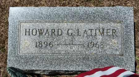 LATIMER, HOWARD G - Richland County, Ohio | HOWARD G LATIMER - Ohio Gravestone Photos