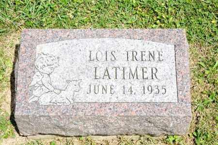 LATIMER, LOIS IRENE - Richland County, Ohio | LOIS IRENE LATIMER - Ohio Gravestone Photos