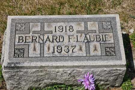 LAUBIE, BERNARD F - Richland County, Ohio | BERNARD F LAUBIE - Ohio Gravestone Photos
