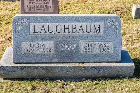 LAUGHBAUM, LE ROY - Richland County, Ohio | LE ROY LAUGHBAUM - Ohio Gravestone Photos