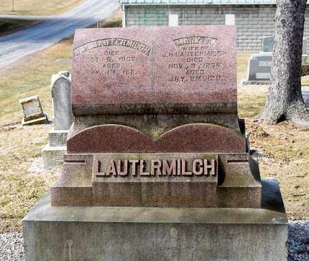 LAUTERMILCH, J H - Richland County, Ohio | J H LAUTERMILCH - Ohio Gravestone Photos
