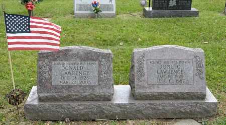 LAWRENCE, DONALD L - Richland County, Ohio   DONALD L LAWRENCE - Ohio Gravestone Photos