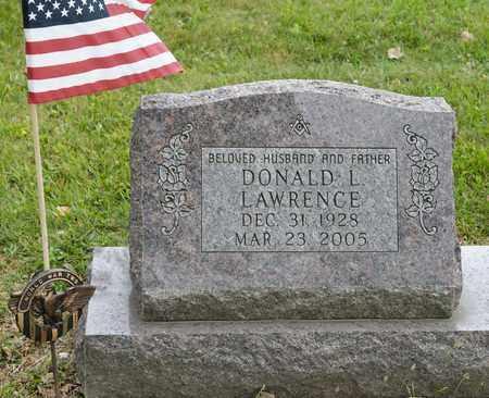 LAWRENCE, DONALD L - Richland County, Ohio | DONALD L LAWRENCE - Ohio Gravestone Photos