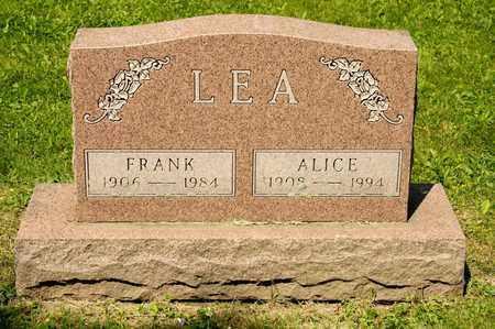 LEA, FRANK - Richland County, Ohio | FRANK LEA - Ohio Gravestone Photos
