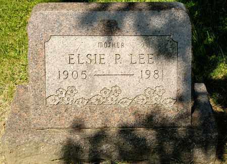 LEE, ELSIE P - Richland County, Ohio | ELSIE P LEE - Ohio Gravestone Photos