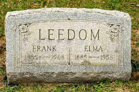 LEEDOM, FRANK - Richland County, Ohio   FRANK LEEDOM - Ohio Gravestone Photos