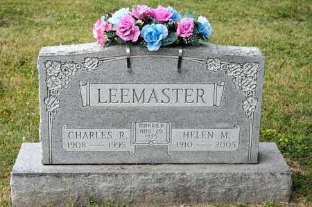 LEEMASTER, CHARLES R - Richland County, Ohio | CHARLES R LEEMASTER - Ohio Gravestone Photos