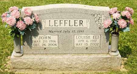 LEFFLER, LOUISE ELI - Richland County, Ohio | LOUISE ELI LEFFLER - Ohio Gravestone Photos