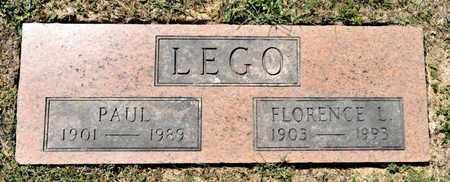 LEGO, FLORENCE L - Richland County, Ohio | FLORENCE L LEGO - Ohio Gravestone Photos