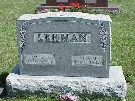 LEHMAN, AMOS E. - Richland County, Ohio | AMOS E. LEHMAN - Ohio Gravestone Photos