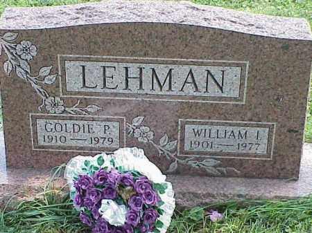 LEHMAN, GOLDIE P. - Richland County, Ohio | GOLDIE P. LEHMAN - Ohio Gravestone Photos