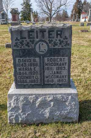 MCCONAHY, ROBERT - Richland County, Ohio | ROBERT MCCONAHY - Ohio Gravestone Photos