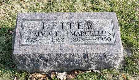 LEITER, MARCELLUS - Richland County, Ohio | MARCELLUS LEITER - Ohio Gravestone Photos
