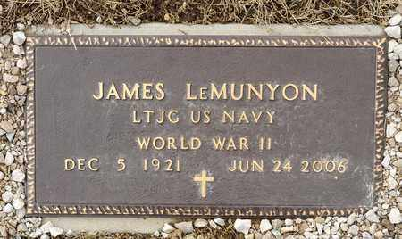 LEMUNYON, JAMES - Richland County, Ohio | JAMES LEMUNYON - Ohio Gravestone Photos