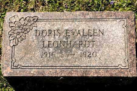 LEONHARDT, DORIS EVALEEN - Richland County, Ohio | DORIS EVALEEN LEONHARDT - Ohio Gravestone Photos
