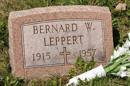 LEPPERT, BERNARD W - Richland County, Ohio | BERNARD W LEPPERT - Ohio Gravestone Photos