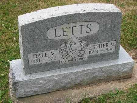 LETTS, ESTHER M. - Richland County, Ohio | ESTHER M. LETTS - Ohio Gravestone Photos