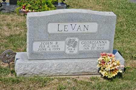LEVAN, JOHN R - Richland County, Ohio | JOHN R LEVAN - Ohio Gravestone Photos