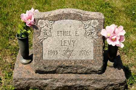 LEVY, ETHEL E - Richland County, Ohio | ETHEL E LEVY - Ohio Gravestone Photos