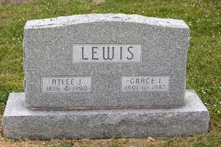 LEWIS, ATLEE J - Richland County, Ohio | ATLEE J LEWIS - Ohio Gravestone Photos