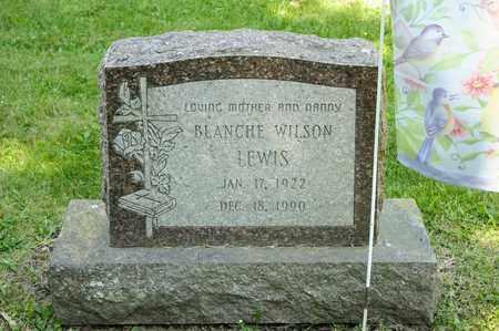 LEWIS, BLANCHE - Richland County, Ohio   BLANCHE LEWIS - Ohio Gravestone Photos