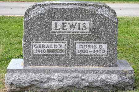 LEWIS, DORIS O - Richland County, Ohio | DORIS O LEWIS - Ohio Gravestone Photos