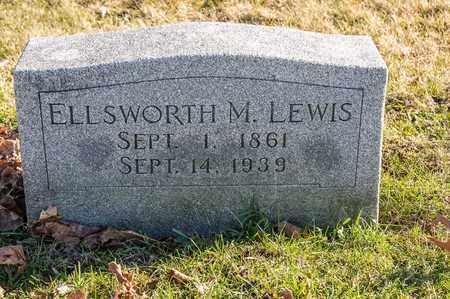 LEWIS, ELLSWORTH M - Richland County, Ohio | ELLSWORTH M LEWIS - Ohio Gravestone Photos