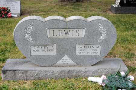 LEWIS, KATHLEEN M - Richland County, Ohio | KATHLEEN M LEWIS - Ohio Gravestone Photos