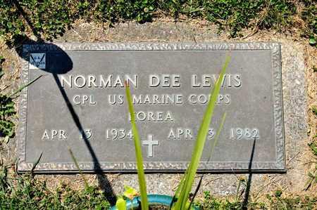 LEWIS, NORMAN DEE - Richland County, Ohio   NORMAN DEE LEWIS - Ohio Gravestone Photos