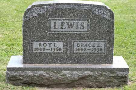 LEWIS, GRACE E - Richland County, Ohio | GRACE E LEWIS - Ohio Gravestone Photos