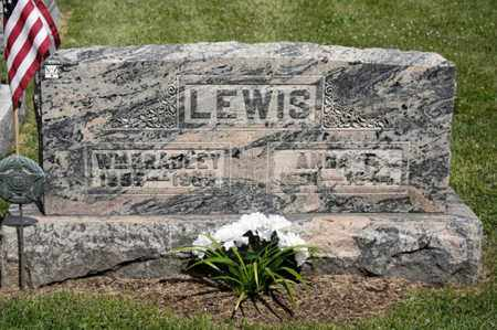 LEWIS, WILLIAM BRADLEY - Richland County, Ohio | WILLIAM BRADLEY LEWIS - Ohio Gravestone Photos