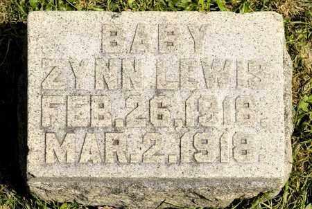 LEWIS, ZYNN - Richland County, Ohio | ZYNN LEWIS - Ohio Gravestone Photos