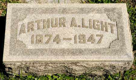 LIGHT, ARTHUR A - Richland County, Ohio | ARTHUR A LIGHT - Ohio Gravestone Photos