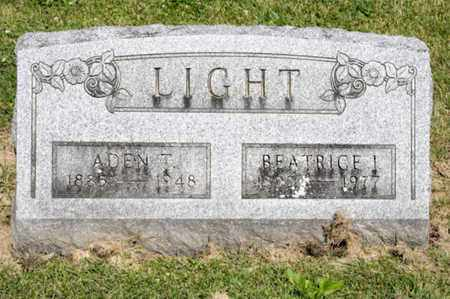 LIGHT, BEATRICE I - Richland County, Ohio | BEATRICE I LIGHT - Ohio Gravestone Photos
