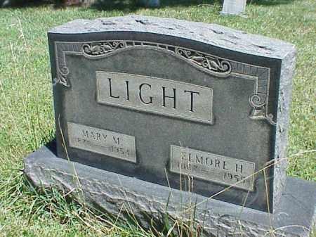 LIGHT, ELMORE H. - Richland County, Ohio | ELMORE H. LIGHT - Ohio Gravestone Photos