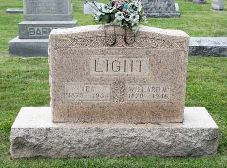 LIGHT, IDA - Richland County, Ohio | IDA LIGHT - Ohio Gravestone Photos