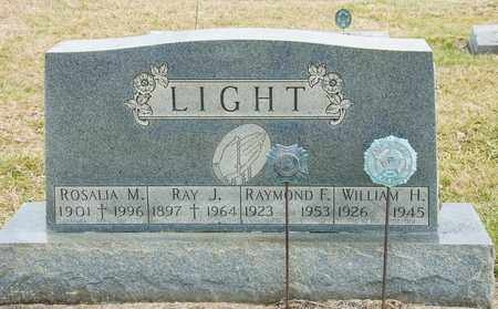 LIGHT, RAY J - Richland County, Ohio | RAY J LIGHT - Ohio Gravestone Photos