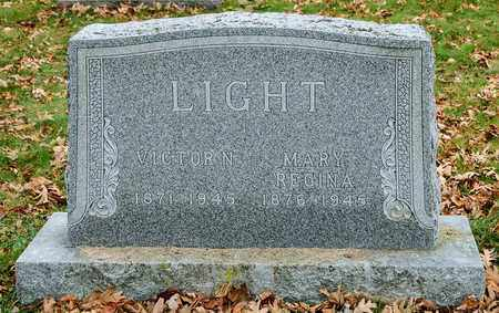 LIGHT, VICTOR N - Richland County, Ohio | VICTOR N LIGHT - Ohio Gravestone Photos