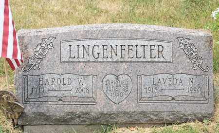 LINGENFELTER, LAVEDA N - Richland County, Ohio | LAVEDA N LINGENFELTER - Ohio Gravestone Photos