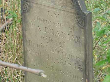 LININGER, CATHARINE - Richland County, Ohio | CATHARINE LININGER - Ohio Gravestone Photos