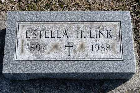 LINK, ESTELLA H - Richland County, Ohio | ESTELLA H LINK - Ohio Gravestone Photos