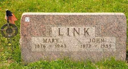 LINK, JOHN - Richland County, Ohio | JOHN LINK - Ohio Gravestone Photos