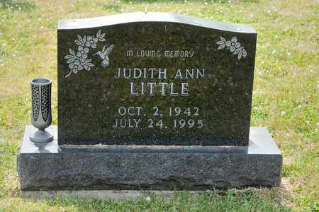 LITTLE, JUDITH ANN - Richland County, Ohio   JUDITH ANN LITTLE - Ohio Gravestone Photos
