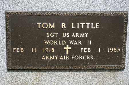 LITTLE, TOM R - Richland County, Ohio | TOM R LITTLE - Ohio Gravestone Photos