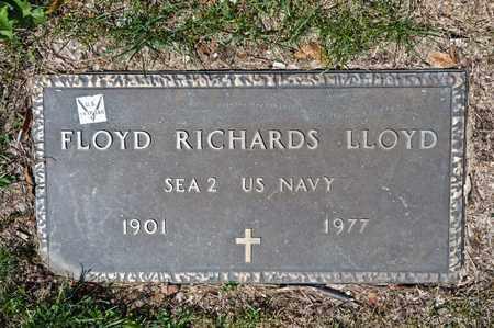 LLOYD, FLOYD RICHARDS - Richland County, Ohio | FLOYD RICHARDS LLOYD - Ohio Gravestone Photos