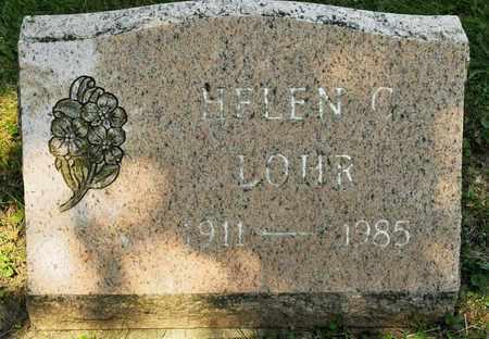 LOHR, HELEN C - Richland County, Ohio | HELEN C LOHR - Ohio Gravestone Photos
