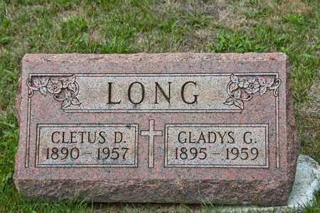 LONG, CLETUS D - Richland County, Ohio | CLETUS D LONG - Ohio Gravestone Photos