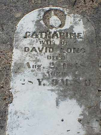LONG, CATHARINE - Richland County, Ohio   CATHARINE LONG - Ohio Gravestone Photos