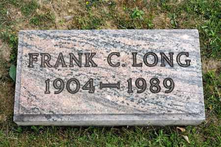 LONG, FRANK C - Richland County, Ohio | FRANK C LONG - Ohio Gravestone Photos